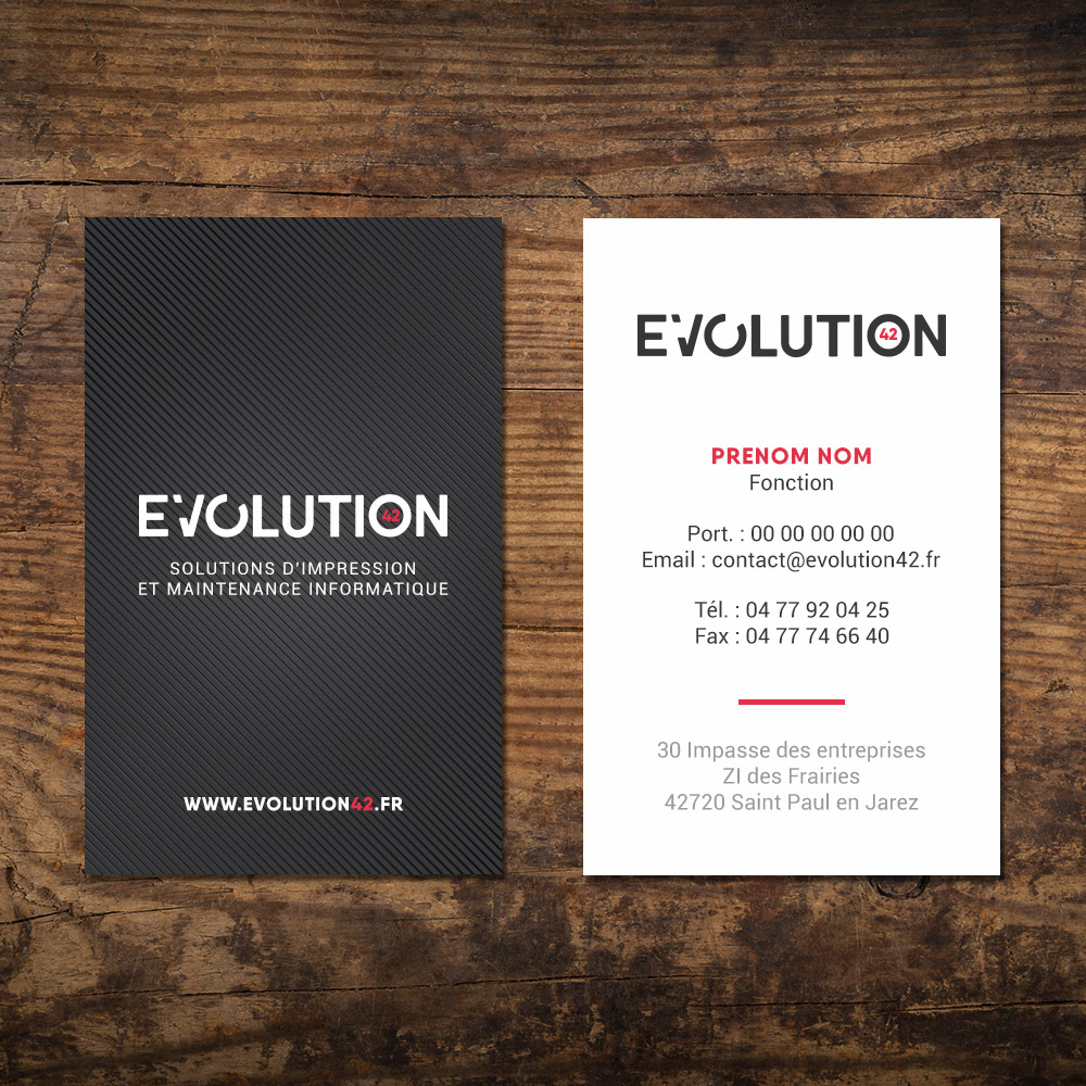 Byedel Logo Evolution42 Carte De Visite